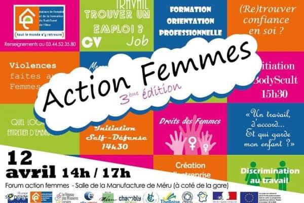 Retrouvez WebForce 3 Beauvais au Forum Action Femmes 3ème Edition à Méru
