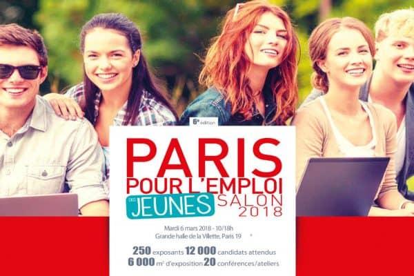 WebForce 3 sera au Salon Paris pour l'Emploi des Jeunes 2018