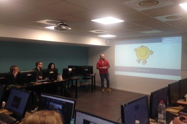 Axecibles, entreprise marraine de la 8ème session Lilloise de Développeur Intégrateur Web