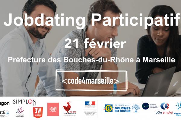 WebForce 3 vous invite à un Job Dating à Marseille le 21 février !