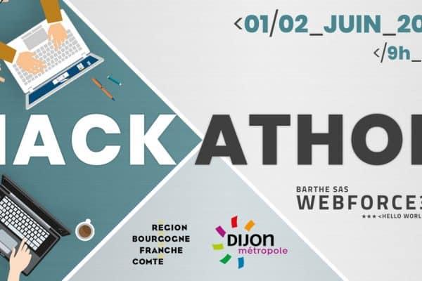 3ème HACKATHON???? de WebForce 3 Bourgogne les 1 et 2 Juin 2019 !