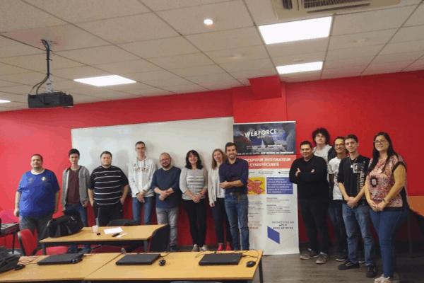 Démarrage de la formation Développeur Web et Web Mobile à WebForce3 Strasbourg