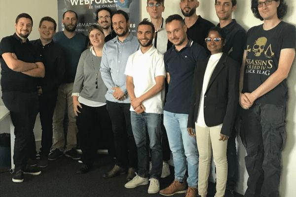 Une belle fin de session Développeur·se Web et Web Mobile à WebForce3 Toulouse