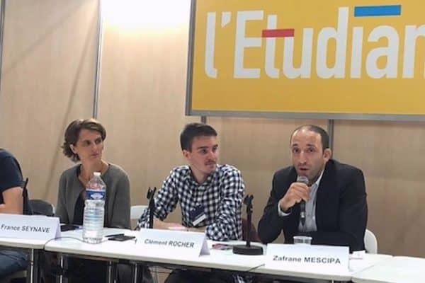 """WebForce3 Lille participe à une conférence sur le développement web au salon """"Formations du Numérique"""" de l'Étudiant"""