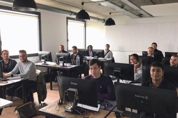 Passage du titre professionnel des apprenant·e·s de Webforce3 Paris