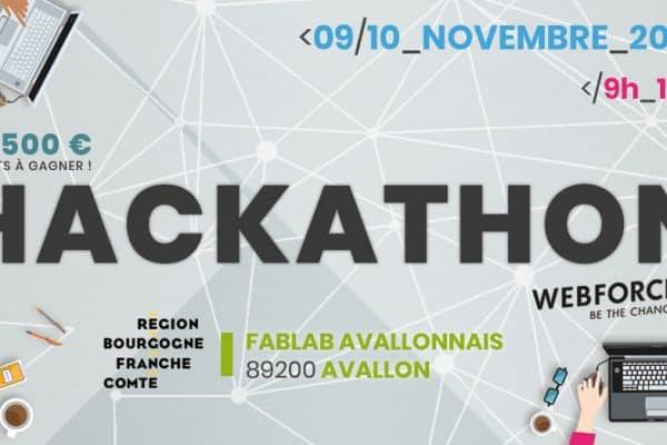 [AGENDA] Deux jours de code à Avallon : le plaisir d'un Hackathon