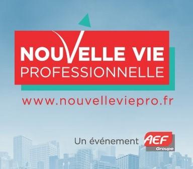"""WebForce3 expose au salon """"Nouvelle Vie Professionnelle"""" à Paris"""