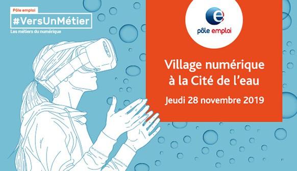 WebForce3 Paris participe au Village Numérique de Pôle Emploi dans les Hauts-de-Seine