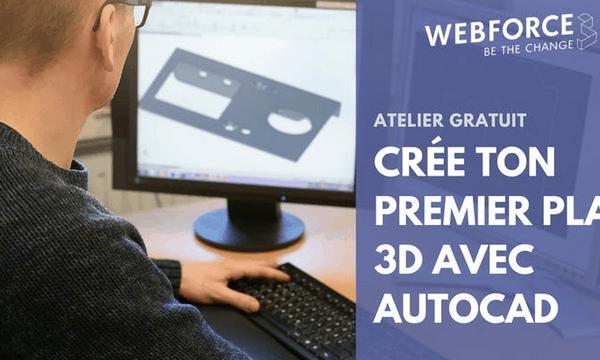 WebForce3 Montpellier organise une semaine d'initiation aux métiers du numérique