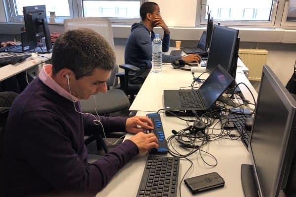 WebForce3 Paris poursuit avec Néa IDF un programme de formation et d'alternance à des demandeurs d'emploi en situation de handicap