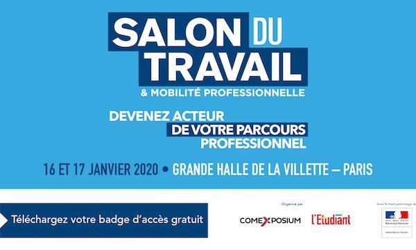 WebForce3 Paris sera au Salon du Travail et de la Mobilité Professionnelle à Paris