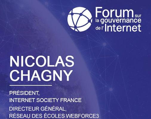 WebForce3 participe au Forum sur la Gouvernance de l'Internet France 2020