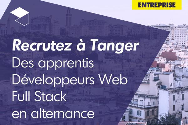 Recrutez des apprentis Développeurs Web Full Stack avec WebForce3 Tanger