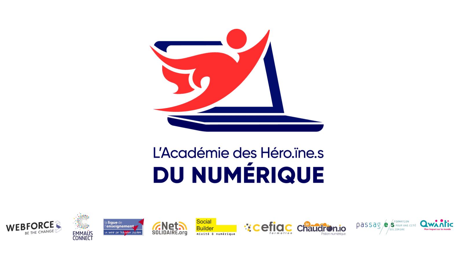 Formation Conseiller Numérique - L'Académie des Héro.ïne.s du Numérique