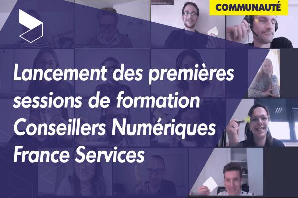 Lancement des premières sessions de formation des Conseillers Numériques France Services