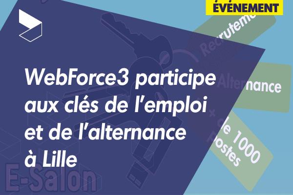 WebForce3 Lille a participé au E-Salon du Territoire Métropole Nord-Ouest