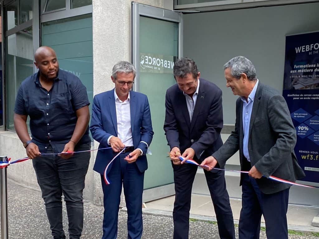 Inauguration WebForce3 La Courneuve