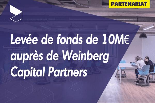 WebForce3 finalise un tour de table de 10 millions d'euros avec le fonds d'investissement à impact positif de Weinberg Capital Partners pour accélérer son développement